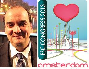Le Docteur Farsalinos, heureux de présenter ses résultats inédits au Congrès annuel de la Société Européenne de Cardiologie