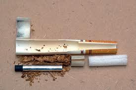 Dissection d'une cigarette Premier