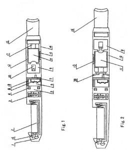 Le premier schéma de la cigarette électronique moderne