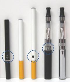 Boutons de cigarettes électroniques