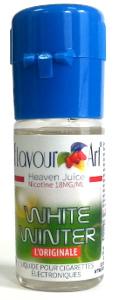 flacon d'e-liquide White winter(Menthe chloro) Flavour Art