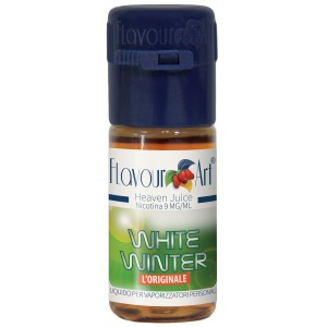 White winter (Menthe blanche / menthe chlorophylle) - E-liquide FlavourArt